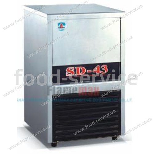 Льдогенератор кубикового льда EWT INOX CIM-43