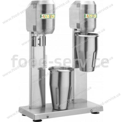 Миксер молочный Fimar Easy Line DMB20 на 2 нерж. стакана