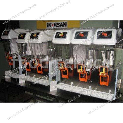 Сокоохладитель (SSА) на 3 емкости Inoksan