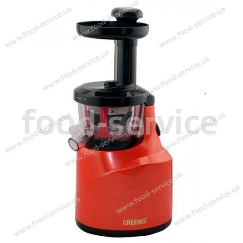 Шнековая соковыжималка Slow Juicer Greenis Red