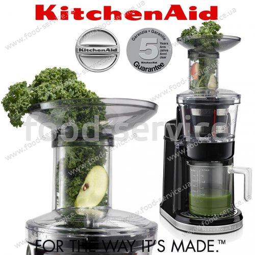 Шнековая соковыжималка KitchenAid 5KVJ0111EOB черная