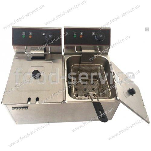 Фритюрница электрическая Airhot EF8+8