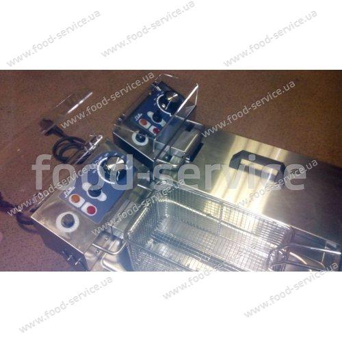 Фритюрница Liloma FLT 10+10 с защитным стеклом