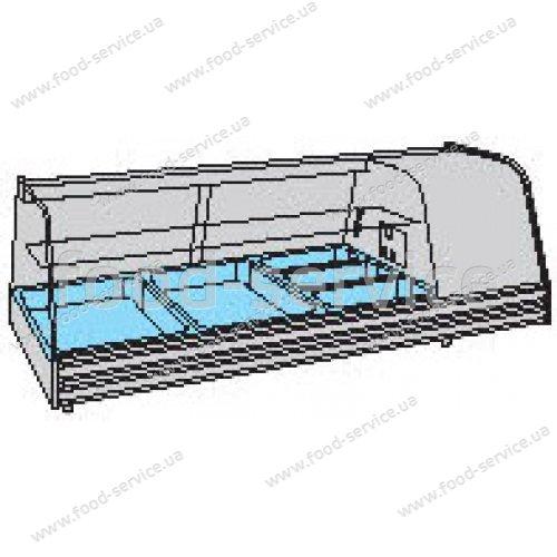 Холодильная витрина барная COLDMASTER GRANTAPAS 3 GN