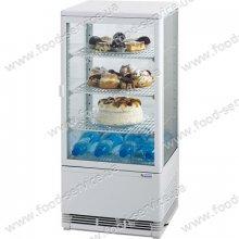 Витрина вертикальная холодильная Stalgast 78л. белая 852170