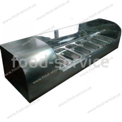 Тепловая витрина настольная ВТН-Р-5-1055