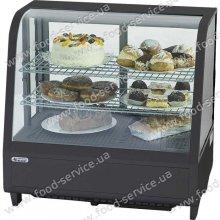 Витрина холодильная горизонтальная Stalgast 100л черная Арт.852101