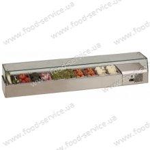 Витрина холодильная для пиццы TEFCOLD VK33-200 (прямое стекло)
