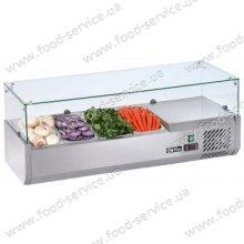 Витрина холодильная для пиццы TEFCOLD VK38-120 (прямое стекло)