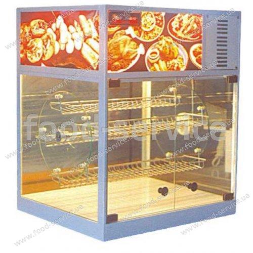 Тепловая витрина карусельная для курей гриль Karma UC-30-B