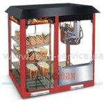 Аппарат для попкорна EWT INOX PCM-12 с тепл. витриной