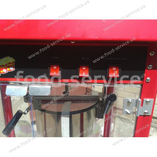 Аппарат для приготовления попкорна Altezoro KZ-VUV6G-X