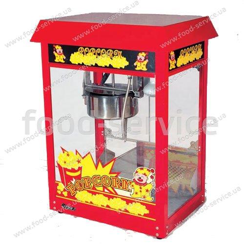 Аппарат для приготовления попкорна EWT INOX ET-POP6A-R