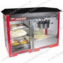 Аппарат для приготовления попкорна РМ-809 с тепл. витриной