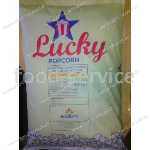 Зерно для приготовления попкорна Lucky-Popkorn 5кг