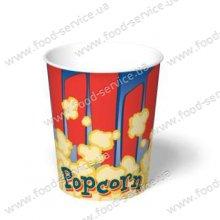 Стаканы для попкорна INTERPAPER V32 (100шт)
