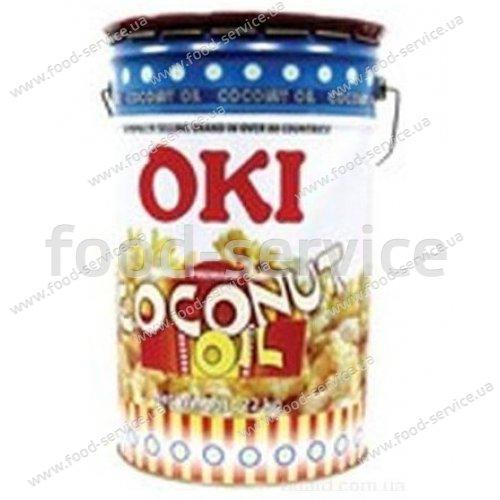 Масло кокосовое для попкорна с бетакаротином OKI, желтое