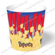 Стаканы для попкорна бумажный V170 (100шт)