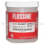 Добавка к сахарной вате Flossine Sassy apple (яблоко, США)