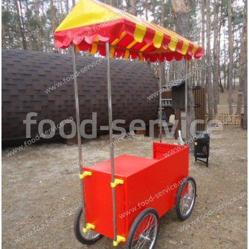 Тележка для сладкой ваты и попкорна FsDesign Комби-1