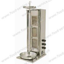 Аппарат для шаурмы газовый (NG) с ручным приводом 3-х секционный Ozdemir