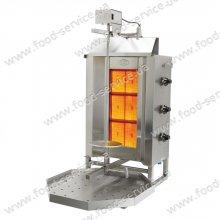 Аппарат для шаурмы газовый с электроприводом OZTI DGD3