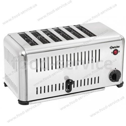 Гриль-тостер вертикальный Cheftoast 6 Bartscher 100212