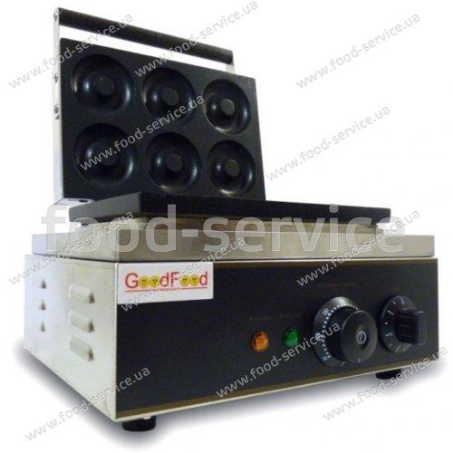 Аппарат для выпечки изделий в форме донатсов GoodFood DM6