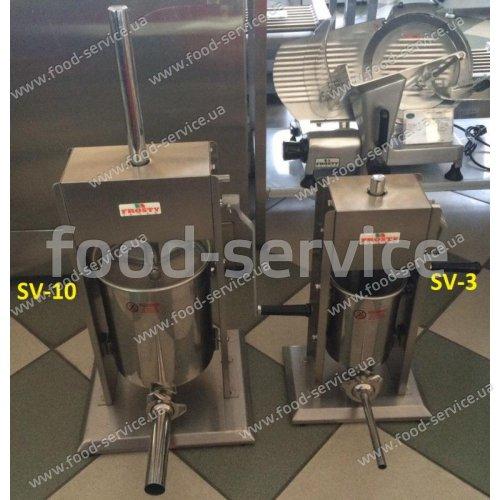 Шприц колбасный ручной FROSTY SV-10