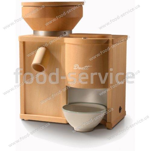 Мельница-зерноплющилка для зерна Komo Duett 200