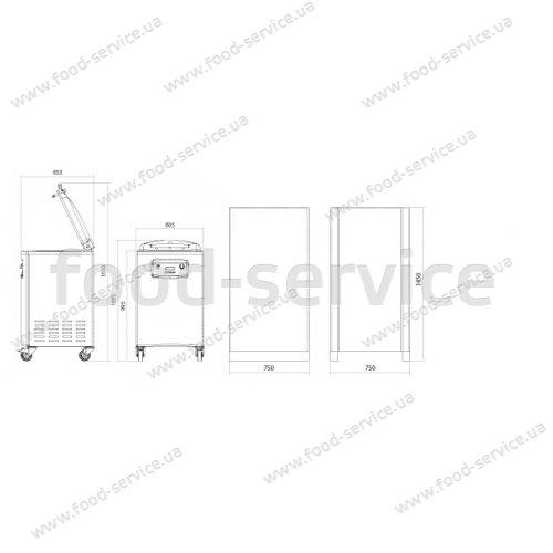 Тестоделитель-округлитель автоматический Vitella SQ A 30