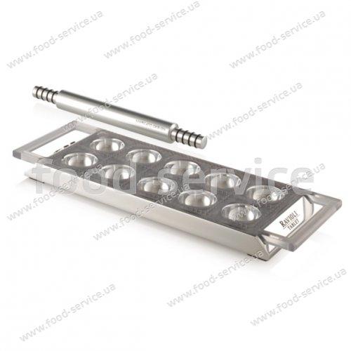 Штамп для изготовления пельменей Marcato Ravioli Tablet argento
