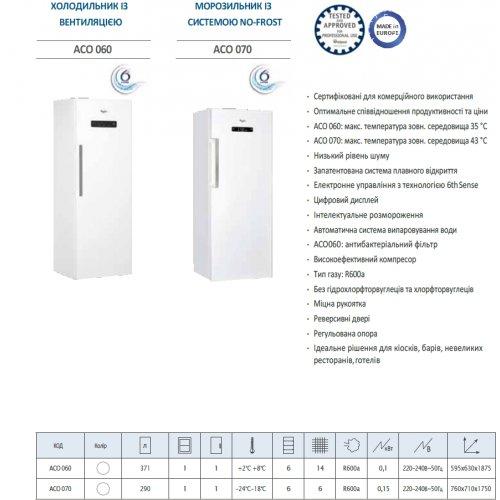 Шкаф холодильный АСО 060