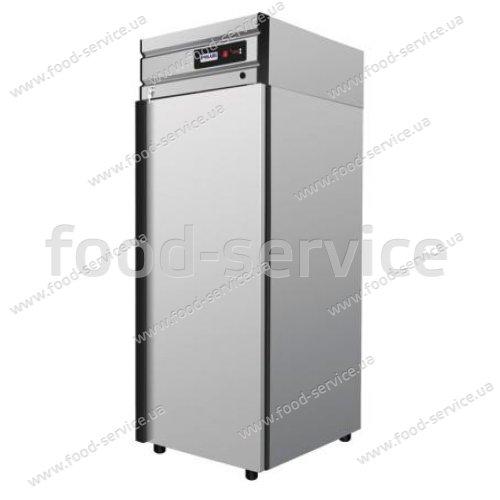Шкаф холодильный Polair CM105-G (ШХ-0.5) (нерж)