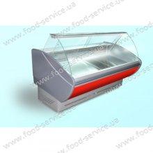 Холодильная витрина ПВХС «КАРОЛИНА»  -1,4, 1340 мм.