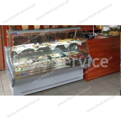Холодильная витрина ПВХС «ПРИМА» - 2,0, 2020 мм.