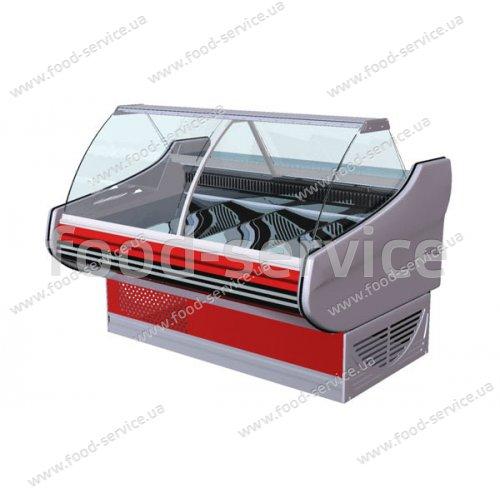 Кондитерская холодильная витрина Ариада Титаниум ВС-5-160К