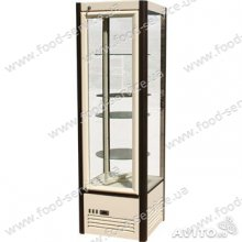 Холодильный шкаф Сarboma R400Cвр с вращающимися полками