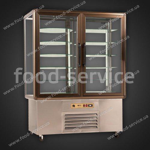 Витрина вертикальная холодильная 2-х дверная UGUR UPD 2