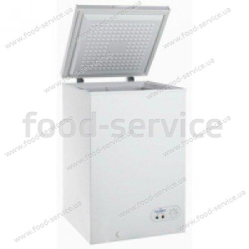 Ларь морозильный с глухой крышкой SCAN SB 106, 98 л.