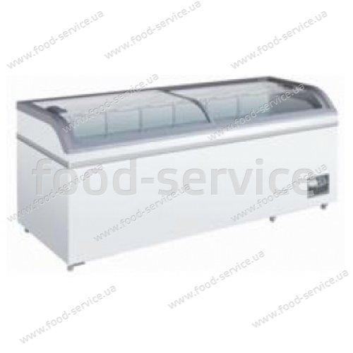Ларь морозильный с стеклянной крышкой SCAN XS 600