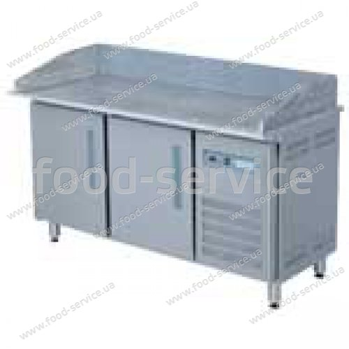 Стол для пиццы холодильный с гранитной столешницей 2м, Epmero