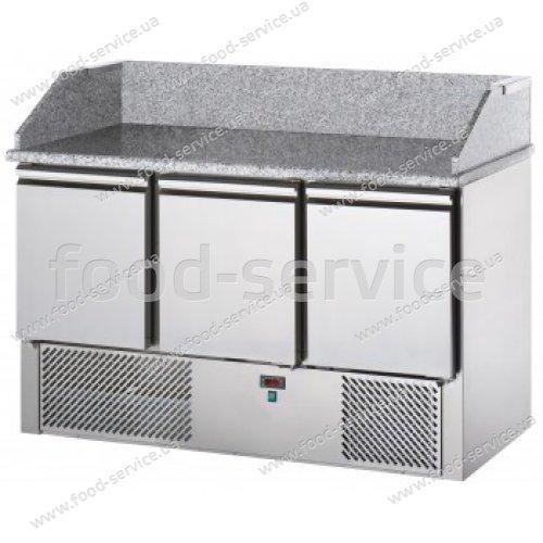Стол для пиццы с гранитной столешницей DGD Refrigeration SL03PZ