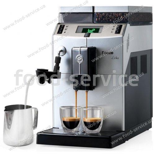 Кофемашина Saeco Lirika Silver Cappuccino