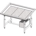 Стол для выкладки рыбы с охлаждением Инокс-маркет 1000, Техно 1