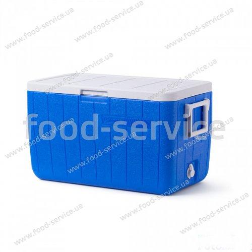 Термобокс  для транспортировки напитков COOLER 100QT BLUE NO TRAY