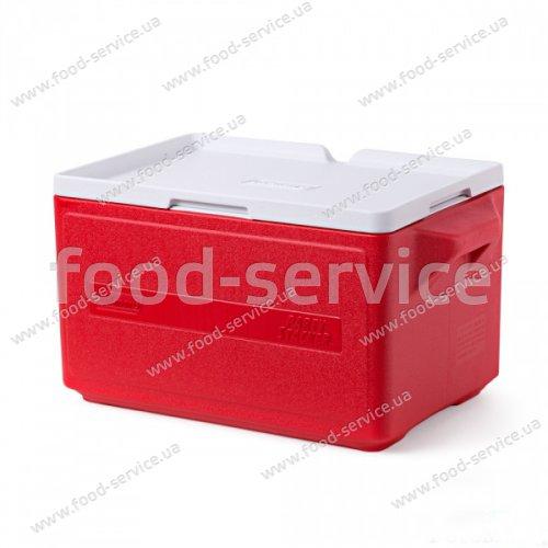 Термобокс  для транспортировки напитков COOLER 48 CAN STACKER - RED