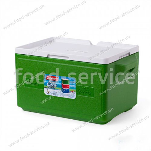 Термобокс  для транспортировки напитков COOLER 48 CAN STACKER - GREEN