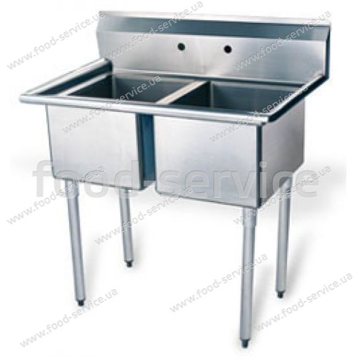 Ванна моечная 2-секц. Gastrorag XSA-2-N 1067х610х1130мм
