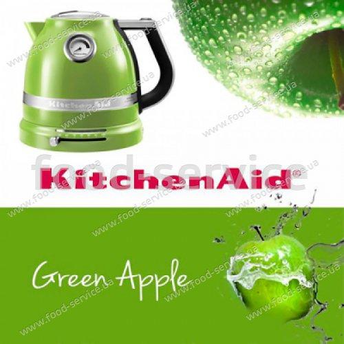 Электрочайник 1,5л KitchenAid 5KEK1522EGA зеленое яблоко